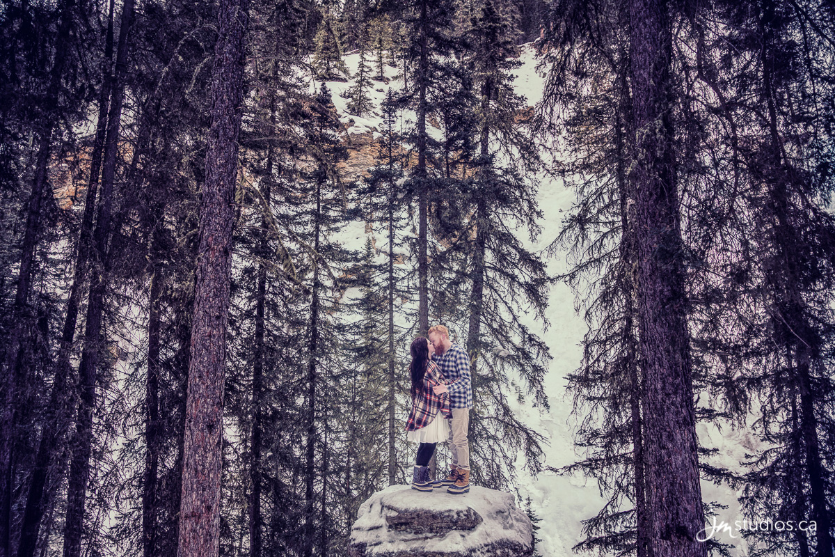170225_098-Calgary-Engagment-Photographers-Johnston-Canyon-Banff-JM_Photography