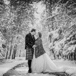 Hamilton-Chicoine Same Day Slideshow of their Wedding at the Bow Valley Ranche Restaurant