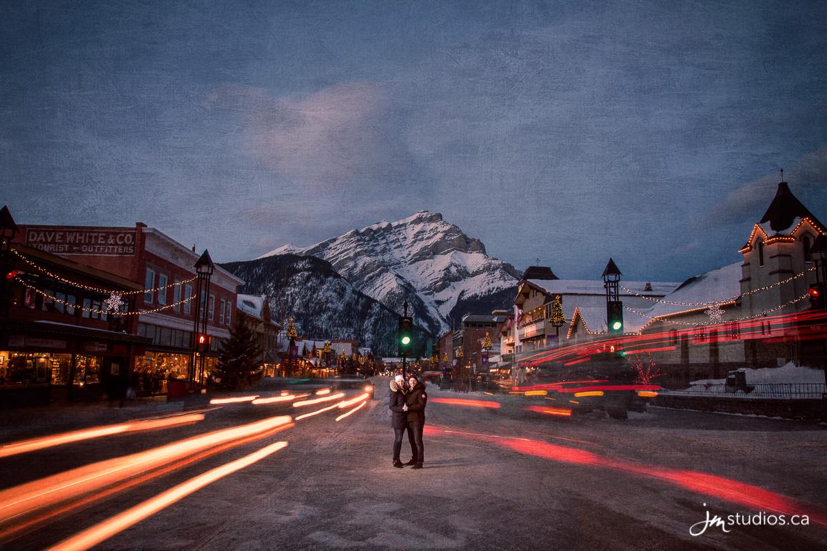 180106_001-Mountain-Engagment-Photos-Bow-Falls-Banff-JM_Photography