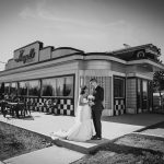 Near Same Day Slideshow of their Wedding at Angel's Drive In by Bowness Park